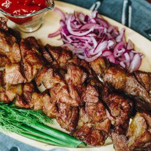 Блюда приготовленные на углях